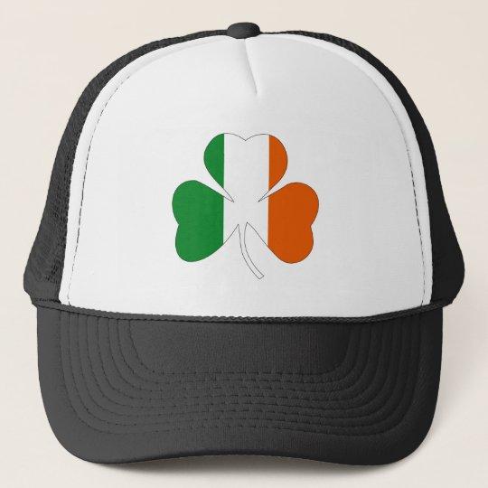 irish leaf symbol flag clover symbol ireland trucker hat  3659ab5bc06