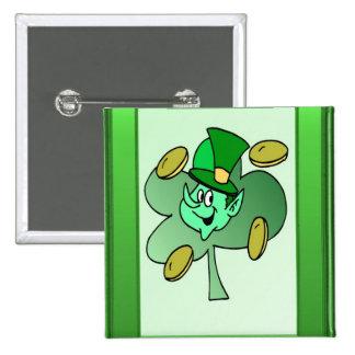 Irish Leprechaun for St Patrick s Day Pin
