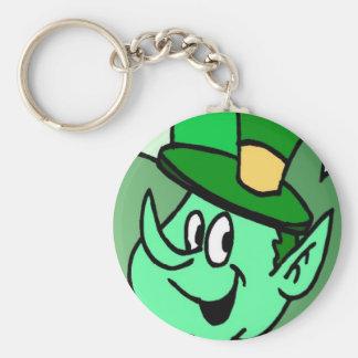 Irish Leprechaun for St Patrick's Day Keychain