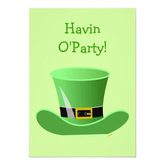 Irish Leprechaun Hat Funny St. Patrick's Day Party