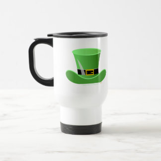 Irish Leprechaun Hat Lucky St. Patrick's Day Travel Mug