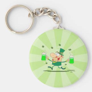 Irish Leprechaun Key Ring
