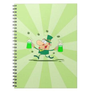 Irish Leprechaun Notebooks