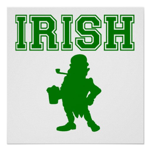 Irish Leprechaun Poster