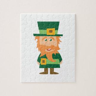 Irish Leprechaun Jigsaw Puzzle