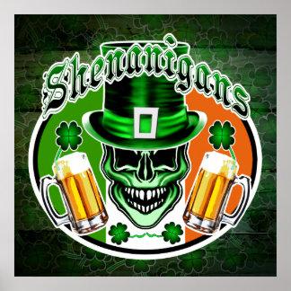 Irish Leprechaun Skull 1: Shenanigans Poster