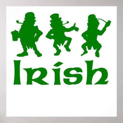 Irish Leprechauns Print