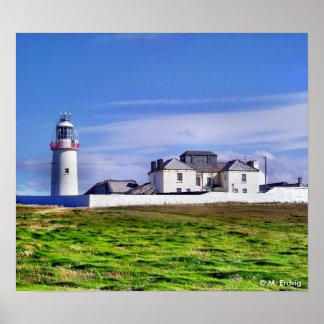 Irish Lighthouse Print or Poster