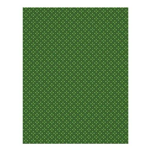 Irish Luck Dual-sided Scrapbook Paper 2 Flyers