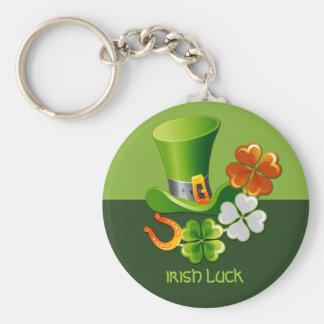 Irish Luck. St. Patrick´s Day Gift Keychain