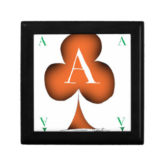 Irish 'Lucky' Ace of Clubs by Tony Fernandes Gift Box
