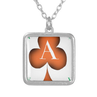 Irish 'Lucky' Ace of Clubs by Tony Fernandes Silver Plated Necklace