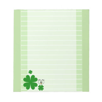 Irish Lucky Note Pad