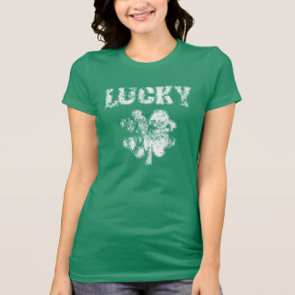 Irish Lucky Shamrock Tee Shirt