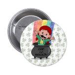 Irish Lucy Button