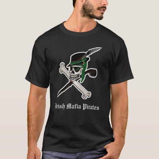 Irish Mafia Pirates logo tee