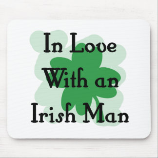 irish man mouse pad
