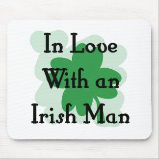 irish man mouse pads