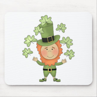 Irish man-St patrick s day Mouse Pad