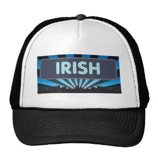 Irish Marquee Mesh Hats
