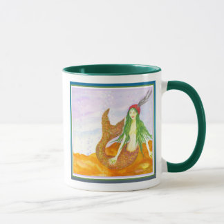 """Irish Mermaid"" by Brigid O'Neill Hovey Mug"