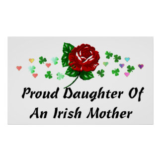 Irish Mom Poster