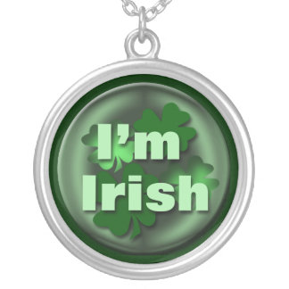 Irish Mother's Day Gift Silver Plated Necklace
