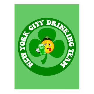 Irish New York City Postcard