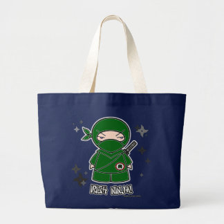 Irish Ninja! With Shurikens Bag