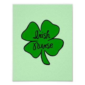 Irish Nurse Poster