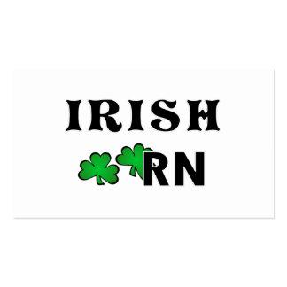 Irish Nurse RN Business Card Templates