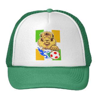 Irish or Côte d'Ivoire Soccer Lion Mesh Hat