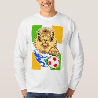 Irish or Côte d'Ivoire Soccer Lion T-Shirt