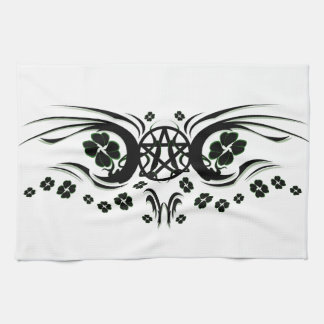 Irish Pagan Hand Towels