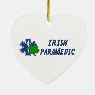 Irish Paramedic Christmas Ornament