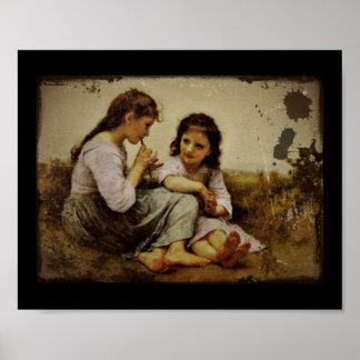 Irish Penny Whistle Girls Print