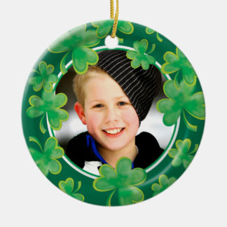Irish Photo Ornament