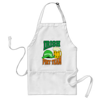 Irish Pint Drinking Team Standard Apron