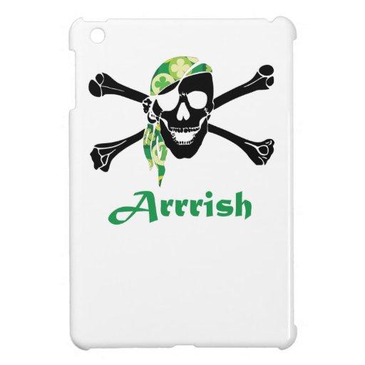 Irish Pirate Skull And Crossbones Case For The iPad Mini