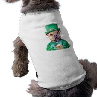 Irish Pitbull Dog Doggie Tshirt