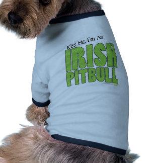 IRISH PITBULL DOG TEE SHIRT