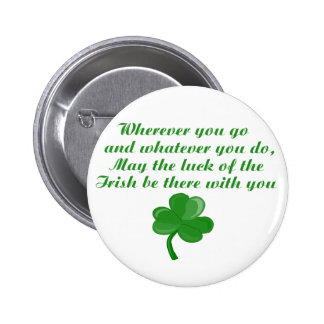Irish Poem Button