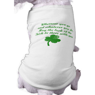 Irish Poem Dog Shirt