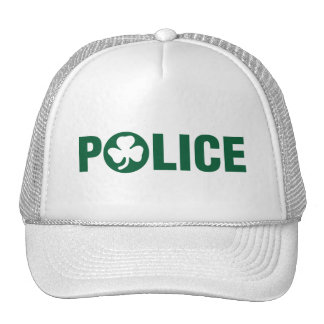 Irish Police Trucker Hat