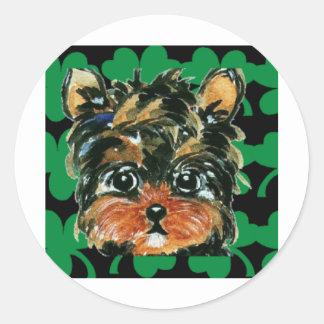 Irish Poo Stickers