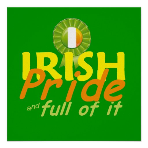 Irish POSTER Print