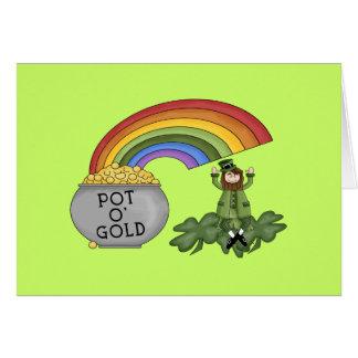 Irish Pot of Gold Cards