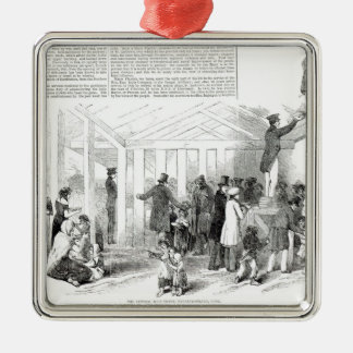 Irish Potato Famine, 1847 Christmas Ornament