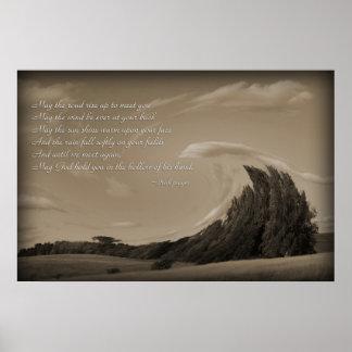 Irish Prayer, Blessing Posters