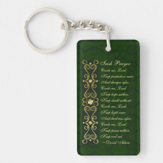Irish Prayer, Circle me Lord, Key Ring